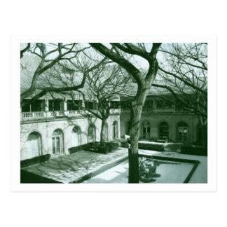 Courtyard in Chicago Postcard