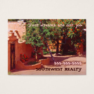 Courtyard New Mexico Business Card