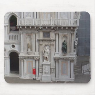 Courtyard of Doges Palace, Venice Mouse Pad