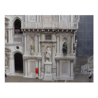 Courtyard of Doges Palace, Venice Postcard