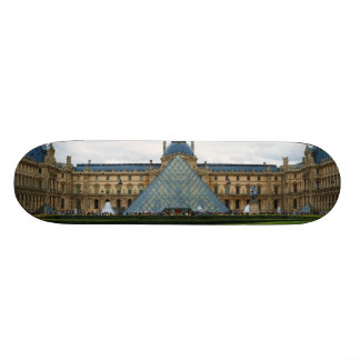 Courtyard of the Louvre Museum with the Pyramid Skate Decks
