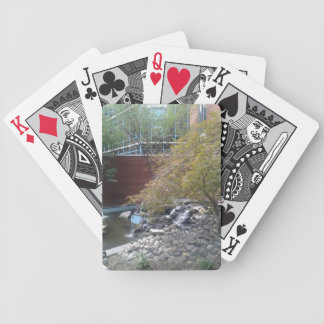 Courtyard Pond Playing Cards
