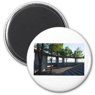 Courtyarda051709 Fridge Magnet