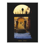 Courtyards of Siena Italy Canvas Print
