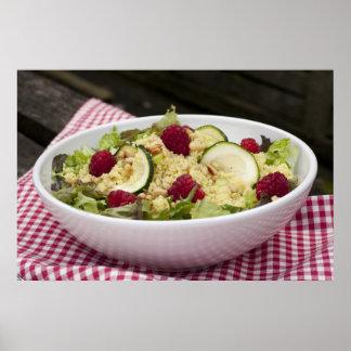 CousCous Salad Picnic Print