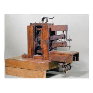 Couseuse la primera máquina de coser 1830 tarjetas postales