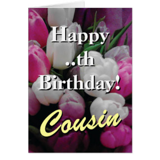 beautiful cousins greeting cards  zazzle, Birthday card