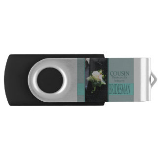 Cousin Bridesman thank you USB Flash Drive