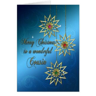 Cousin Christmas card