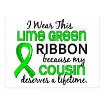 Cousin Deserves Lifetime Lymphoma Postcard