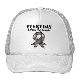 Cousin - Everyday I Miss My Hero Military Trucker Hat