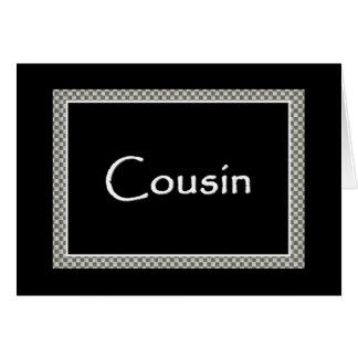 COUSIN Groomsman FUNNY Wedding Invitation Greeting Card