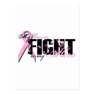 Cousin Hero - Fight Breast Cancer Postcard