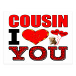 Cousin I Love You Postcard