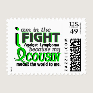 Cousin Means The World To Me Lymphoma Postage