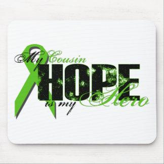 Cousin My Hero - Lymphoma Hope Mouse Pad