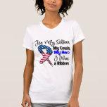 Cousin - My Soldier, My Hero Patriotic Ribbon Tshirt
