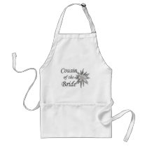 Cousin of the Bride Adult Apron