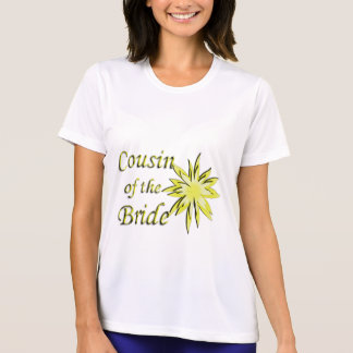 Cousin of the Bride Yellow T Shirts