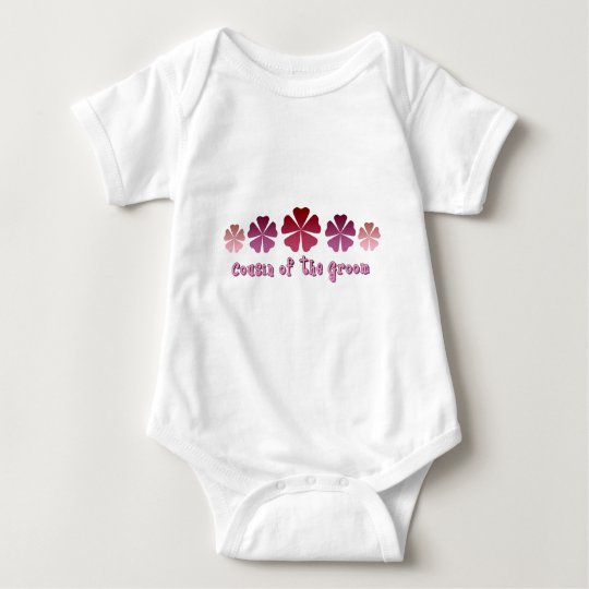 Cousin of the Groom Baby Bodysuit