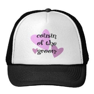 Cousin of the Groom Trucker Hat