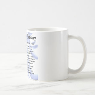 Cousin poem 70th Birthday Coffee Mug