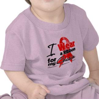 Cousin - Red Ribbon Awareness Tshirts