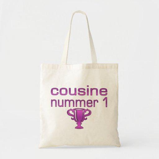 Cousine Nummer 1 Budget Tote Bag