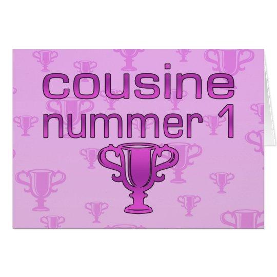 Cousine Nummer 1 Card