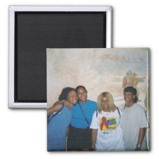 Cousins 2 Inch Square Magnet