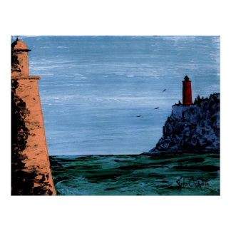 COUSINS (lighthouse) ~ Poster