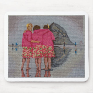 Cousins Needlepoint Mouse Pad