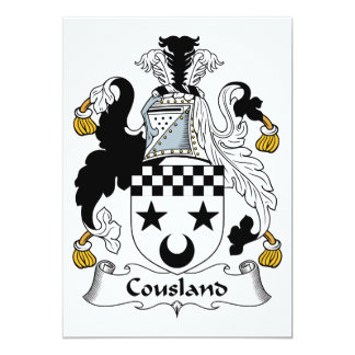Cousland Family Crest Card