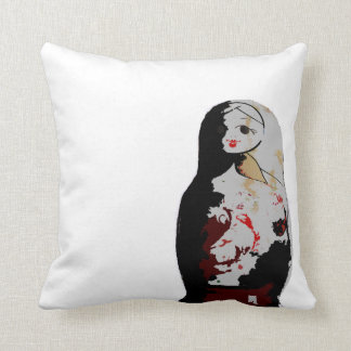 Coussin Russe Throw Pillow