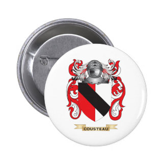 Cousteau Coat of Arms Pin