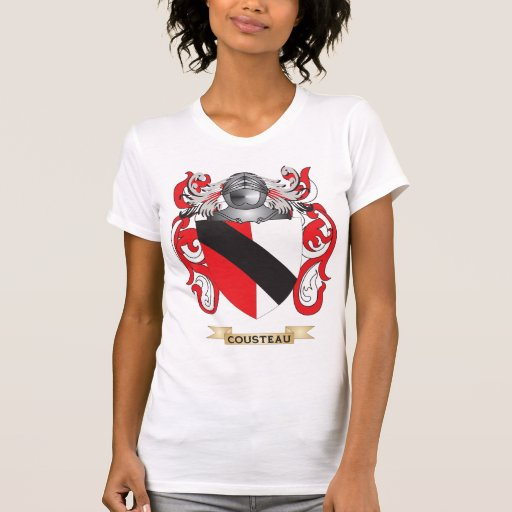 Cousteau Coat of Arms Tee Shirt