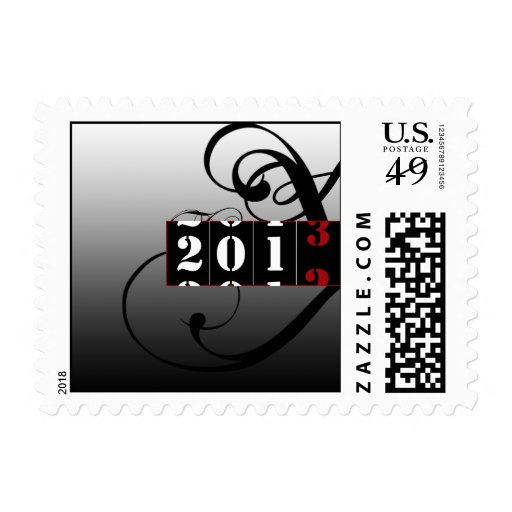 Coutdown 2012 to 2013 New Years Eve Postage