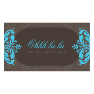 COUTURE BUSINESS CARD :: couture flourish 5L
