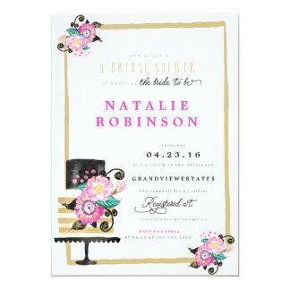Couture Cake Bridal Shower Invitation