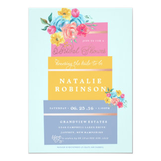 Couture Cake Bridal Shower Invitation - SPRING