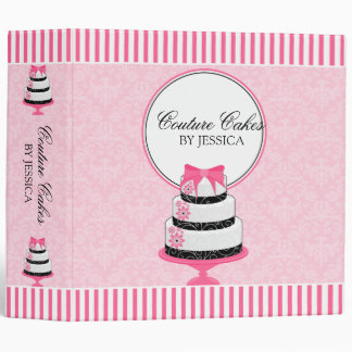 Couture Cakes Bakery 2 Inch Binder