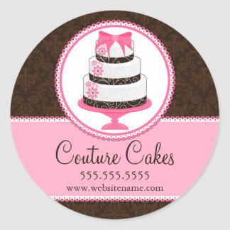 Couture Cakes Bakery Box Seals