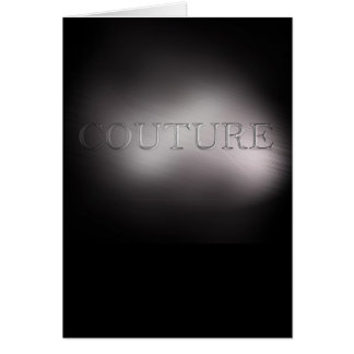 Couture Card
