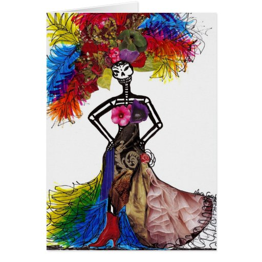 Couture Catrina Stationery Note Card