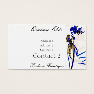 Couture Chic business card