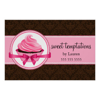 Couture Cupcake Bakery Posters