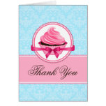 Couture Cupcake Thank You Cards
