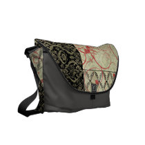 Couture Design I Rickshaw Messenger Bag