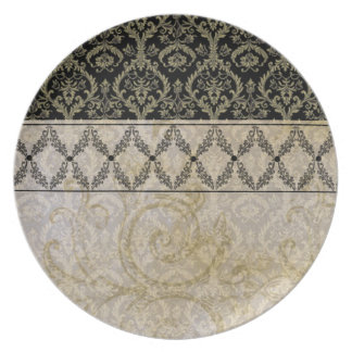 Couture Designs IB Damask Plates