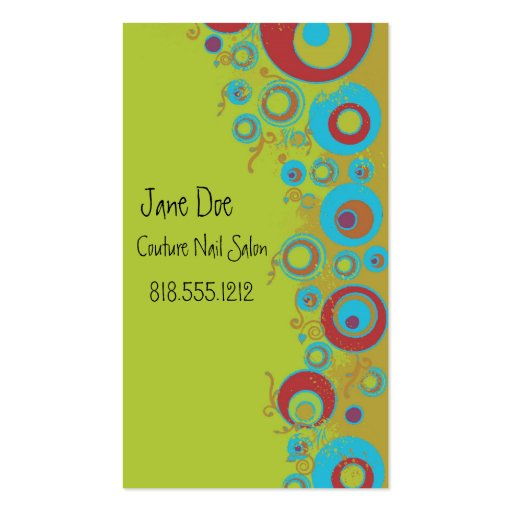 Couture Dots Business Cards